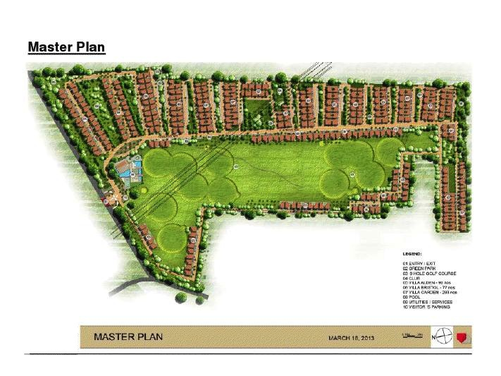 Augusta Golf Village - Layout Plan
